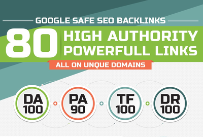 Manually do 80 unique PR10 SEO backlinks on DA100 sites