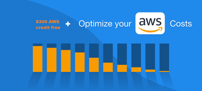 AWS cost optimization report + $300 AWS credit(free)