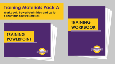 Format a set of training materials (Package A)