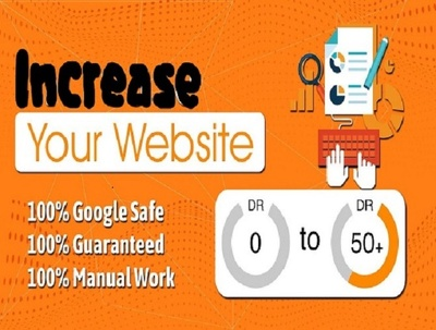 Bring your ahref domain rank DR by quality SEO authority inks