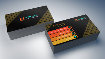 Design creative and amazing business card