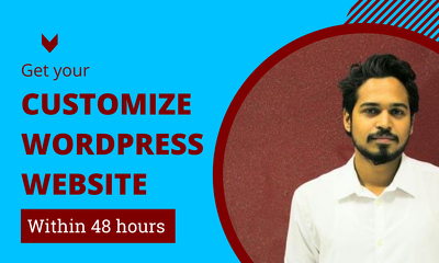 Design and developer modern wordpress website within 48 hours