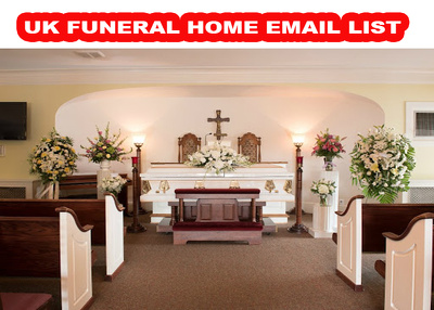 UK Funeral Homes 500 Email database
