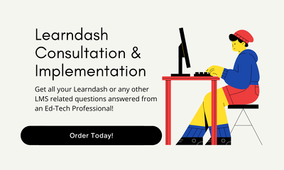Do a consult on learndash or any other lms platform