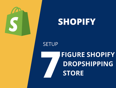 Build you a high converting shopify dropshipping store website