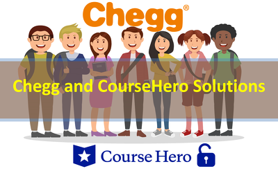 Provide Chegg and Coursehero Solutions