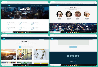 I will built wordpress website, landing page and blog for you