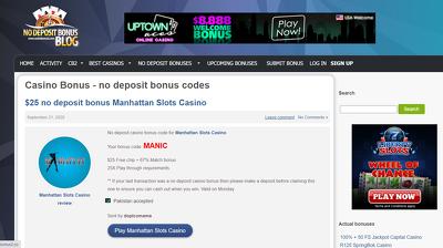 Publish casino niche article on casinobonus2.co Dofollow