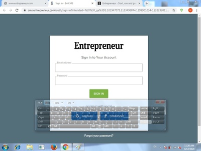 Provide you with ENTREPRENEUR guest-post contributor account