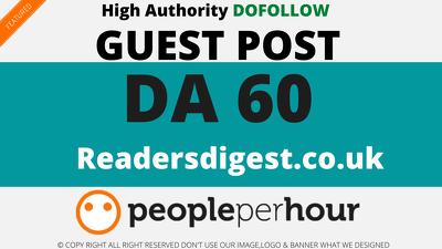 Publish a Guest Post on readersdigest - readersdigest.co.uk DA60