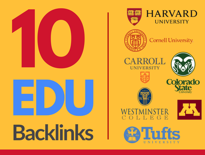 Guest post to provide 10 EDU Backlinks from USA Universities