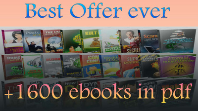 Send a pack of more than 1600 ebooks which you can resell