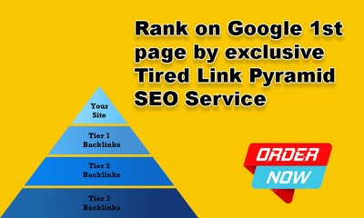 Tired Pyramid Exclusive SEO Service [Rank on Google 1st page]
