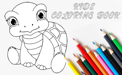 Illustrate stunning coloring book pages eBooks for children