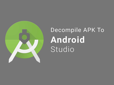 Decompile android APK and can give android studio code