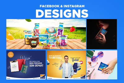 Design 1 creative social media post or banner ads