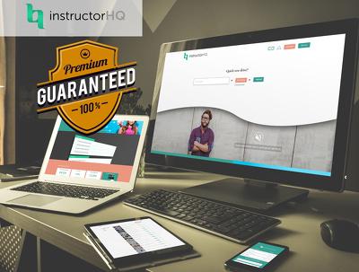 Interactive web page Mockup