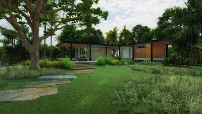 Create a high quality exterior rendering of your project
