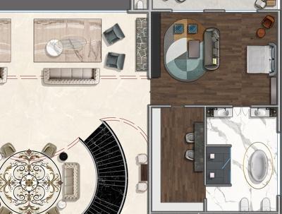 2d floor plan visualize