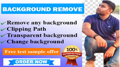 Cut background 100 photos in 24 hours by Photoshop professional