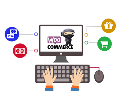 Setup woocommerce, products page, single product page, checkout