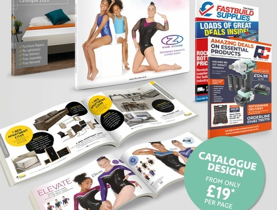 Your 20 page product catalogue