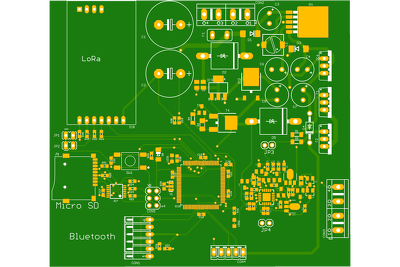 Make PCB layout for our proyect