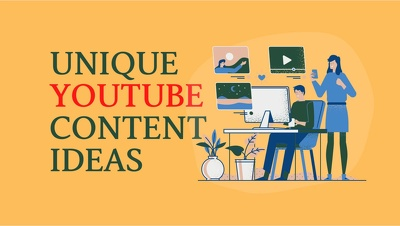 Provide Unique and Tailor Fit YouTube Content Ideas