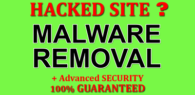 Remove malware from hacked websites