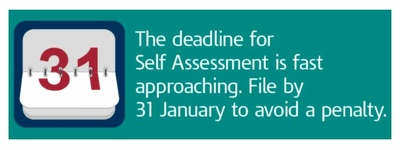 Complete your self assessment tax returns