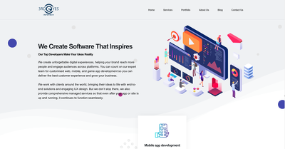 Provide you innovative and responsive wordpress  landing page