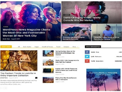 Build professional worpress blogging website design or blog