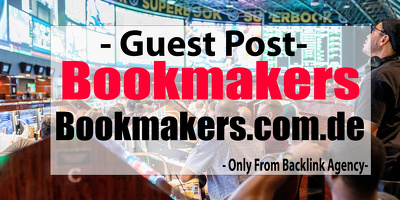 Publish Guest Post on my BETTING Gambling Bookmakers Blogs
