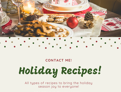 25 Holiday season recipes