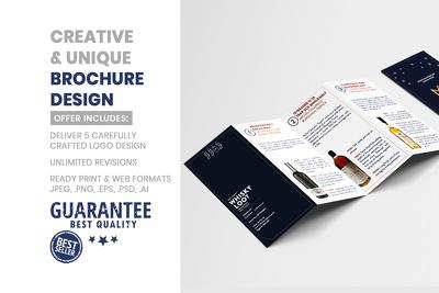 Professional brochure, leaflet, poster and flyer design