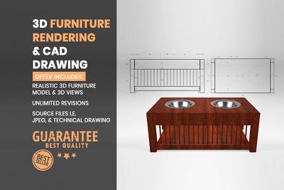 Do 3D furniture modelling