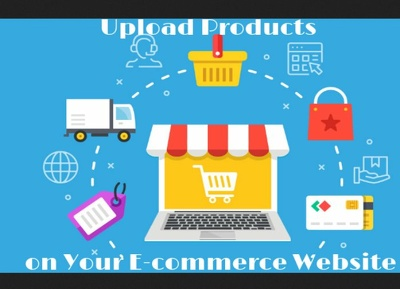 Upload 50 products on your ecommerce website