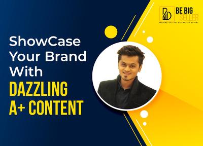 Design Attractive Amazon A+ Content/Enhanced Brand Content