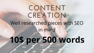 Write a well-researched 500-word article