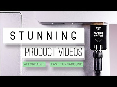 Shoot/edit a stunning product video ***HALF PRICE OFFER***