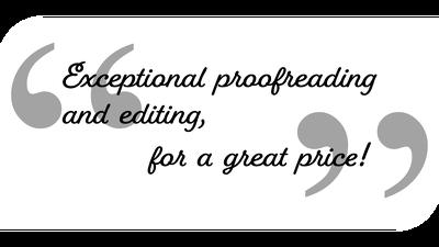 Proofread & edit 2,000 words