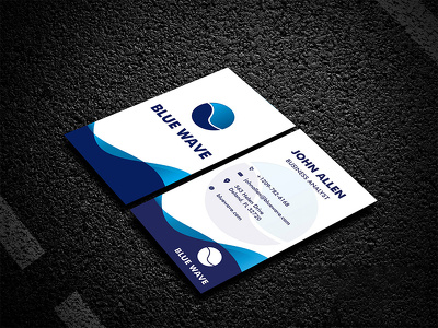 Do unique business card design with unique concept