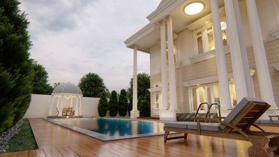 3d modelling and Lumion architectural render
