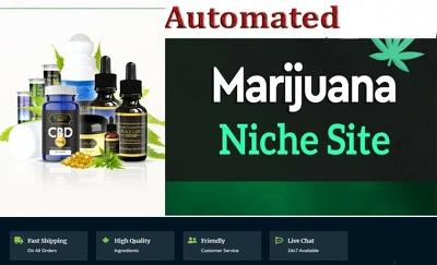 Autopilot cbd marijuana hemp video news site for passive income