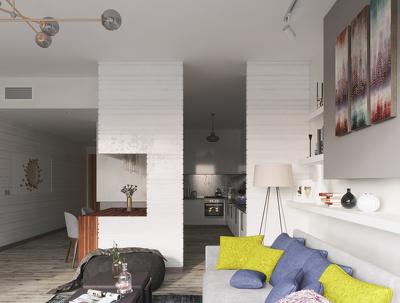 make professional render of your interior designe