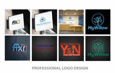 Design Bespoke Logo + Unlimited Concepts & Revisions