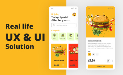 Research & design mobile app UX & UI both IOS & android.