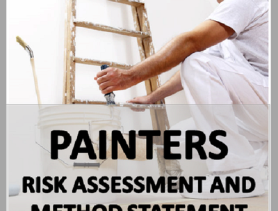 Write a Painters Risk Assessment and Method Statement