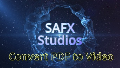 Create a 3 minute video from your PDF (max 12 pages)