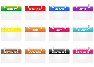 Create a monthly social media content calendar for your business
